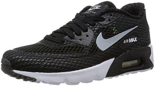 Nike Men's Air Max 90 Ultra Br Plus QS Black/Wolf Grey/White/Volt Running Shoe 10.5 Men US (Men Nike Air Max 90 compare prices)