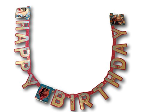 Elena of Avalor Hinged Happy Birthday Girls Birthday Banner 7.59 ()