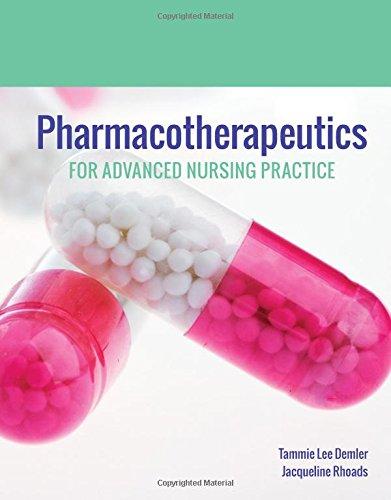 Pharmacotherapeutics for Advanced Nursing Practice by Jones & Bartlett Learning
