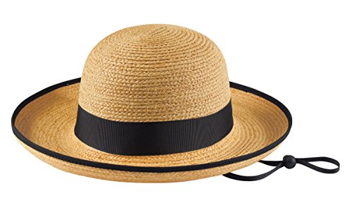 Tilley R2 Medium Brim Raffia Hat - Natural - S