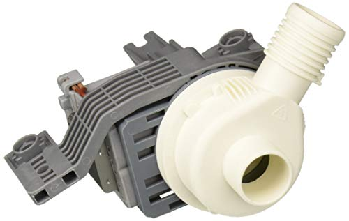(Whirlpool W10581874 Washer Drain Pump Original Equipment (OEM) Part, White)