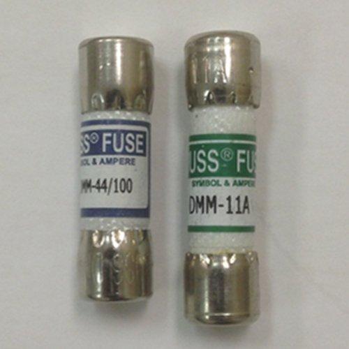 Combo pack 1 piece Fluke 803293 11 Amp 1000V and 1 piece Fluke 943121 440mA 1000V Fluke Digital Multimeter Replacement Fuse by Fluke//Bussmann