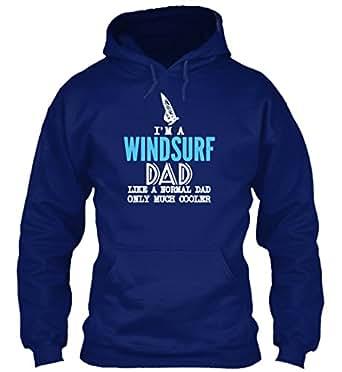 Sudadera con Capucha Teespring para Hombre - XL - IM A WINDSURF DAD SHIRT