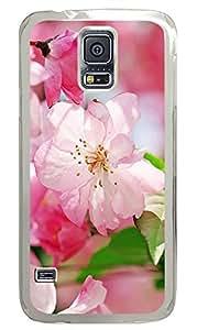 Samsung Galaxy S5 Begonia Flowers PC Custom Samsung Galaxy S5 Case Cover Transparent