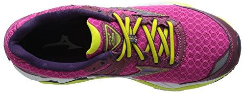 Mizuno Womens Wave Paradox 2 Running Shoe Fuchsia Purple Shadow Purple Dd1pECJDa