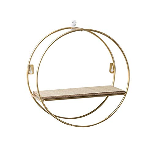 Floating Shelves Wall Shelf,Creative Home Restaurant Porch Room Small Ornaments Innovative Living Room Rack Wall Shelf Wall-mounted Decoration Pendant Storage for Flower Stand Bookcase Shelving Backgr