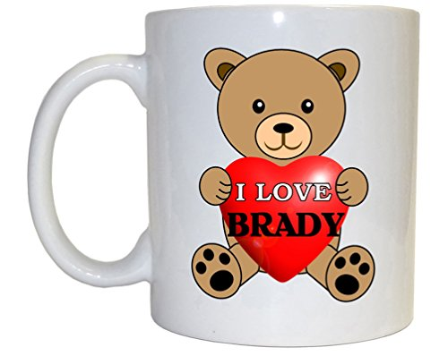 (I Love Brady Mug)