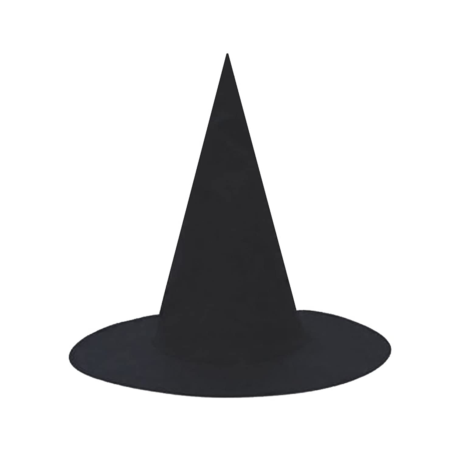 Amazon.com: SeasonsTrading Black Witch Hat ~ Halloween Witch ...