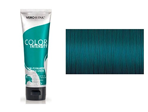 (Joico Color Intensity Semi-Permanent Creme Hair Color (with Sleek Tint-Brush) (Peacock Green))