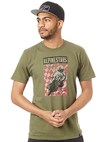 Cover m Tee Vert Alpinestars Shirt Military gx6AAnU