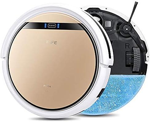 iLife v5s Pro Robot Limpiador de la fregona de vacío con Tanque de Agua, Barrer automáticamente fregado Mopping la Limpieza del Piso del Robot: Amazon.es: Hogar