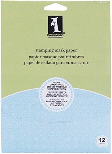 Price comparison product image Inkadinkado Stamping Mask Paper