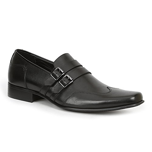 Giorgio Brutini Nyne Men's Slip On 11.5 D(M) US Black Brutini Wingtip