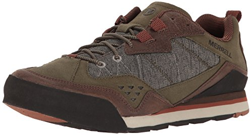 物質貧困コンセンサスMerrell Burnt Rock Mens Walking/Hiking Sneakers/Shoes [並行輸入品]