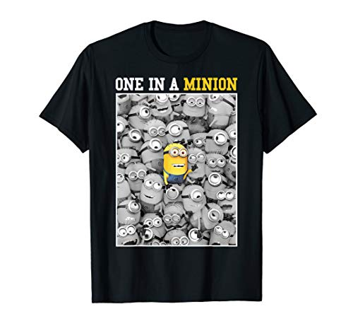 Despicable Me Minions One In A Minion Color Pop Portrait T-Shirt -