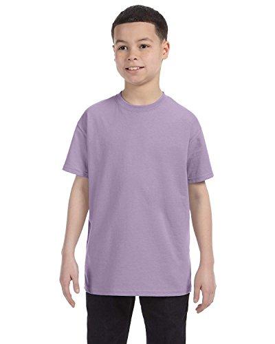 Hanes Authentic Tagless Kid`s Cotton T-Shirt Lavender