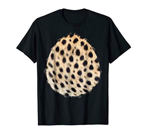 Halloween Tiger, Cheetah, Lion Animal Costume Belly Shirt