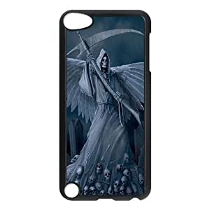 LZHCASE Design Phone Case Grim Reaper For Ipod Touch 5 [Pattern-1]