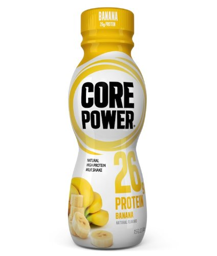 Core Power Protein Shake (26g), Banana, Ready to Drink for Workout Recovery, 14 fl oz Single Serve Bottle