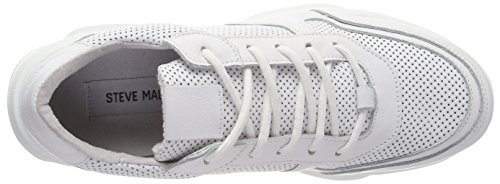 Leather Zela Steve Wei Madden Donna 107 p White Sneaker 05nxqFT5