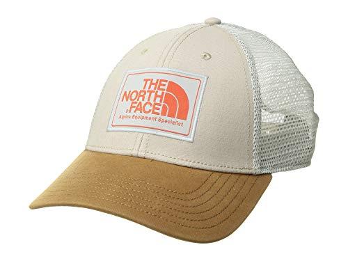 The North Face Unisex Mudder Trucker Hat Silt Grey/Zion Orange One Size