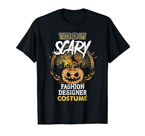Fashion Designer Costume Tee Fashion Designer Halloween Gift