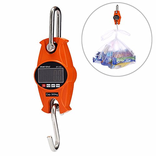 SF918 300KG/600LBS Digital Hanging Scale Industrial Crane Scale by Krittapas Intertrade