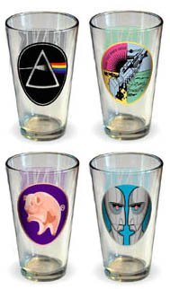 Pink Floyd Collector's Series Pint Glass Set (Set of 4 Pub Glasses) by Unknown (Image #1)