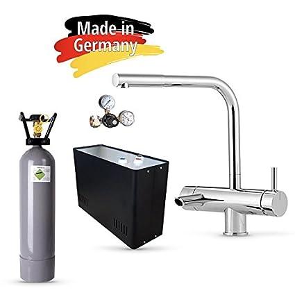 ¡Agua con gas directa del grifo!Sistema de agua potable bajo la mesa –