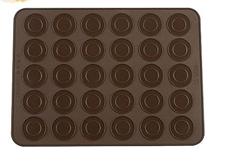 Nikgic Macarons molde antiadherente de pudding de muffin de chocolate de forma de Moldes para niños