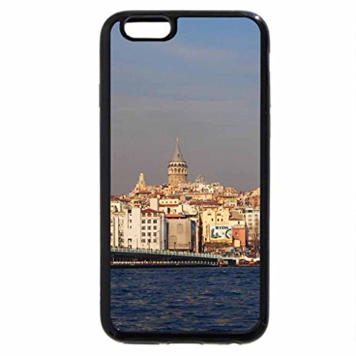 iPhone 6S / iPhone 6 Case (Black) Galata Bridge