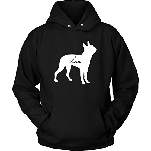 Boston Terrier Love Dog Puppy Pet Hoodie Sweatshirt