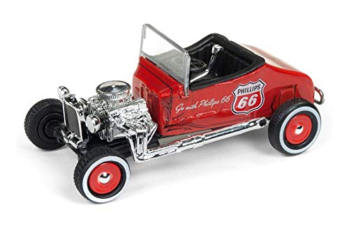 - Round 2 1927 Ford T-Roadster, Red Metallic JLSP011/24 - 1/64 Scale Diecast Model Toy Car