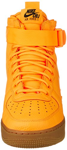 5 Orange Mid SF 40 Nike Ripstop Force Sneakers Laser EU Uomo Air Rosso 1 Pelle qAqwxO0X