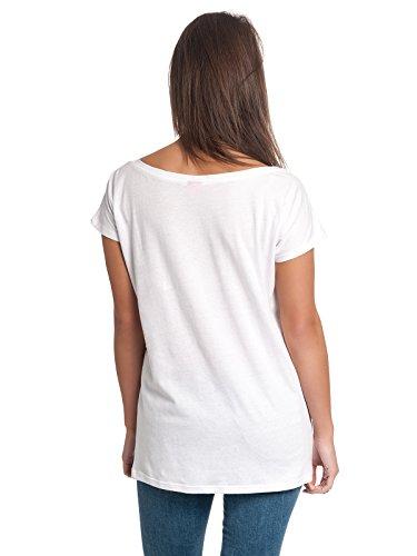 Alice im Wunderland Imagination Damen T-Shirt Weiß, Größe:XXL