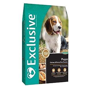 Exclusive Puppy Food Chicken & Brown Rice Recipe, 15 lb Bag