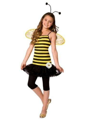 Rubies Girls Yellow & Black Stripe Bee C - Bee Sweet Shopping Results