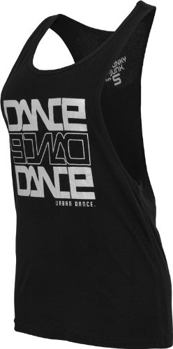 Urban Classics Dance Tanktop Black/Silver