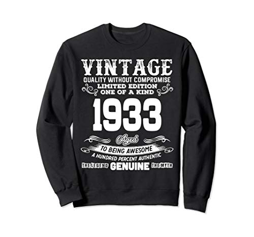 Funny 86th Birthday Shirts 86 Years Old Gifts Sweatshirt