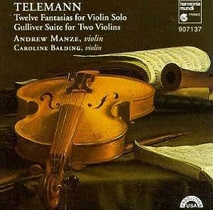 Twelve Fantasias for Violin Solo.