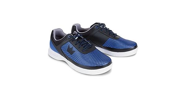 Mens Brunswick FRENZY Bowling Shoes Black//Grey Sizes 8-14 WIDE /& Shoe Slide