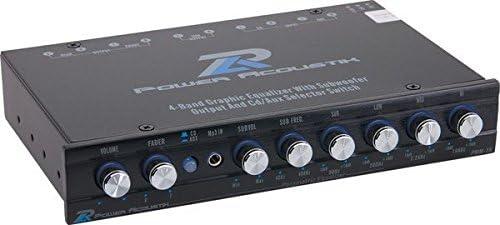 Power Acoustik Car Audio Equalizer