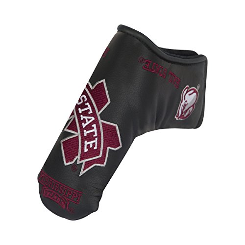 Team Effort Mississippi State Bulldogs black Blade Putter - Bulldogs Cover Mississippi State