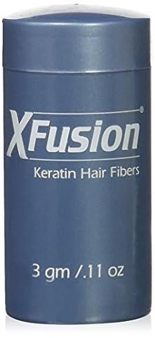 XFusion Travel Size (3g) Keratin Hair Fibers, Black - Xfusion Fiber