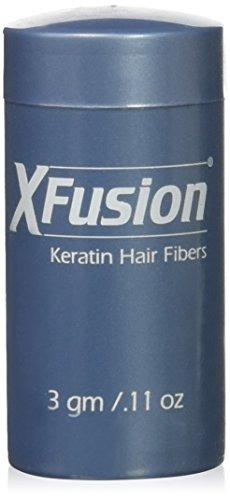 XFusion Travel Size (3g) Keratin Hair Fibers, Black by XFusion