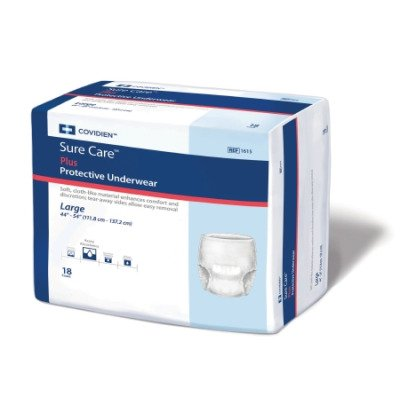 MCK16153100 - Adult Absorbent Underwear Sure Care Pull On...
