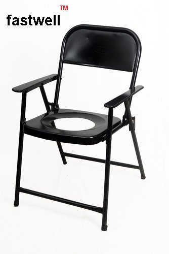 786c556dc Buy FASTWELL Commode Chair Folding with Side Handle Online at Low Prices in  India - Amazon.in