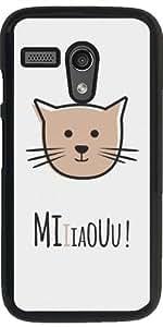 Funda para Motorola Moto G (Generation 1) - El Gato Que Hace Miau by Asmo