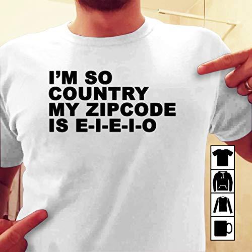 Cowgirl I'm So Country my zipcode is eieio T Shirt Long Sleeve Sweatshirt Hoodie Youth