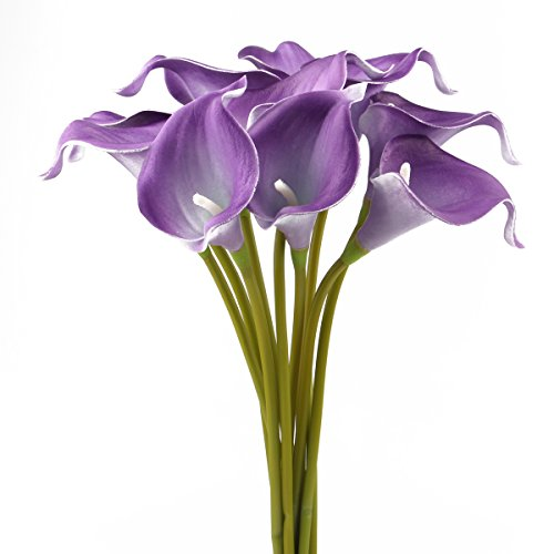 Leagel Calla Lily Bridal Wedding Bouquet Head Lataex, used for sale  Delivered anywhere in USA
